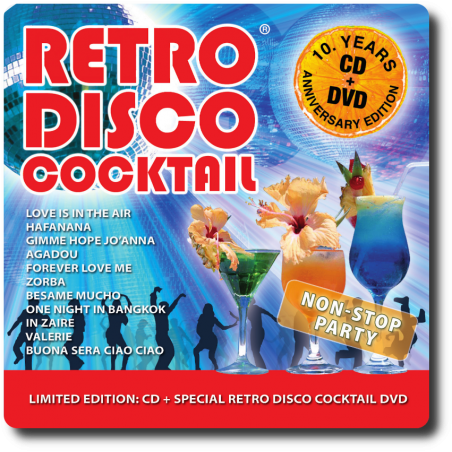 Retro Video Disco Koktél - Best of Party CD+DVD