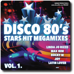 Disco 80's Stars Hit Megamixes