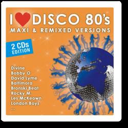"I Love Disco 80"" s - Maxi &..."